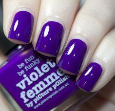 Picture Polish Violet Femme (1 mani) - $12 shipped