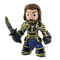 Funko Mystery Minis Warcraft Lothar With Armor Figure
