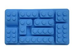 High quality MULTI SHAPE brick silicone kitchen mold, blue. Easily create Super Fun treats from chocolate, candy, ice, juice. Mold candle, soap, crayon and more for birthday or everyday joy for Lego, Lego Duplo, Mega Bloks fans. Creative Home and Play http://www.amazon.com/dp/B00PVIM41O/ref=cm_sw_r_pi_dp_10Devb1RDZTN7