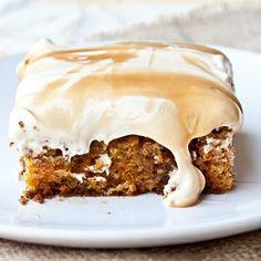 Caramel Cream Carrot Cake