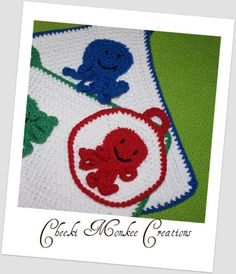 Octopus kiddy Washcloths by knitbabylady on Etsy, $10.99 Washing Clothes, Octopus, Kids Rugs, Trending Outfits, Unique Jewelry, Handmade Gifts, Cute, Etsy, Vintage