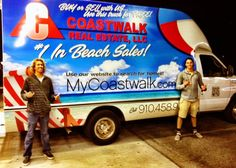 Coastwalk Real Estate Moving Truck. Buy or Sell with Coastwalk Real Estate, and use our truck for FREE. See homes for sale here: http://www.coastwalkrealestate.com/oceanview-homes/