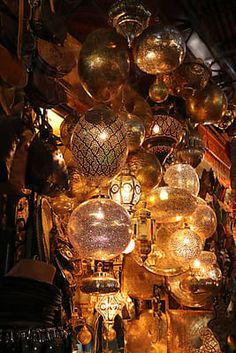Colourful Traditional Lamps In Market At Night Traditional Lamps, Moroccan Lamp, 8th Of March, Us Images, Design Elements, The Unit, Ceiling Lights, Stock Photos, Marketing