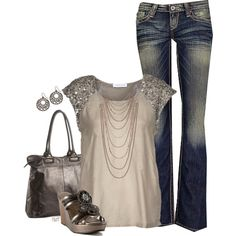 A fashion look from July 2012 featuring basic tee, slim jeans et chaussures à plate-forme. Browse and shop related looks.