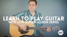 A series of video lessons designed to teach you how to go from beginner to playing full songs on the guitar. I'll break down the lessons into sections here. If a lesson doesn't have a link yet, that means I haven't recorded it, but I'll plan to in the future. Learning Chords: How to play …
