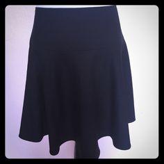 RED Valentino black skirt Wool poly mix RED Valentino Skirts Circle & Skater
