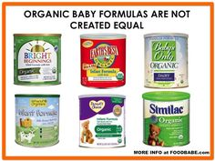 How To Find The Safest Organic Infant Formula--Ingredients to watch out for in infant formula, even organic (which in my opinion are still all junk--note the link towards the bottom for homemade formula or link for milk sharing resources).
