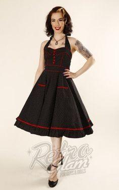 563d3e79b5 Hell Bunny Vanity 50 s Dress