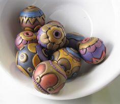 Rebecca Watkins beads, lovely!