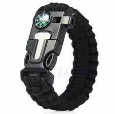 5 in 1 Paracord Survival Bracelet