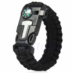 $24.99 --NOW $15.99 5 in 1 Paracord Survival Bracelet This tactical designed 5 in 1 Paracord Survival Bracelet is a MUST HAVE! Designed with premium high quality material. Includes FREE SHIPPING! Deta