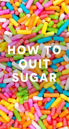 How to stop sugar cravings  and cut down on eating sugar in a 4 step plan.