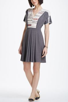 Cross-Stitch Row Dress - Anthropologie.com