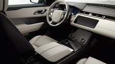 Интерьер внедорожника Рендж Ровер Велар 2017 / Range Rover Velar 2017