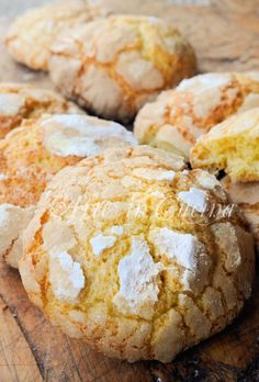 Biscotti morbidi all'arancia e mandarancio veloci Italian Cookie Recipes, Italian Cookies, Italian Desserts, Biscuit Cake, Biscuit Recipe, Cheesecake Desserts, Dessert Recipes, Almond Paste Cookies, Sweet Light