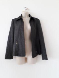 ESPRIT - Veste taille 36 -gris chiné laine mélangée - doublée - en TRES BON ETAT