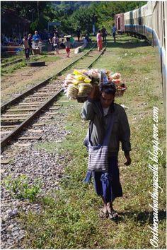 Pause du train en route vers Hsipaw