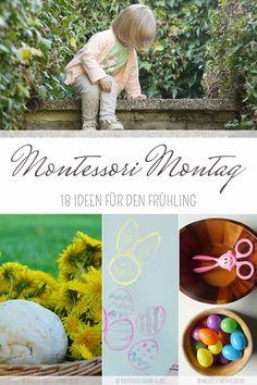 Wir entdecken Montessori Frühling und Ostern steht vor der Tür. Mit diesen 18 Übungen entdecken und lernen Kinder spielerisch und kreativ!