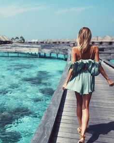 Luxury Beach Lifestyle - Maldives