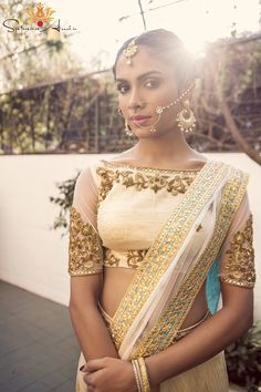 Best site to plan a modern Indian wedding, WedMeGood covers real weddings, genuine reviews and best vendors | candid photographers, Make-up artists, Designers etc Saree blouse