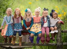 Matilda Jane Clothing Friends Forever, Fall 2015 Photoshoot with TK952 Jael Brose   Kimberly Mohler Photography