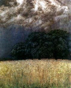 Hans Thoma, Calm Before the Storm (1906)
