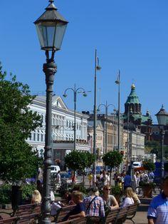 Helsinki - Esplanade by Heinz-Jörg Kretschmer on 500px