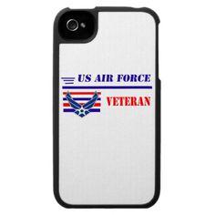 US Air Force Veteran iPhone 4 Covers