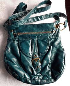 Teal green Leather Satchel bag, - On Sale Now. Satchel Bag, Leather Satchel, Green Leather, Soft Leather, Beautiful Handbags, Teal Green, Bag Sale, Fashion, Cute Handbags