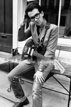 """Elvis Costello ~ 1977 - My personal favorite! Always inovative and you """"can dance to it""""! If you ever have a chance to see him live you will be blown away!  Great talent!"""