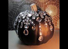 Halloween Crafts No-Carve Pumpkin Idea