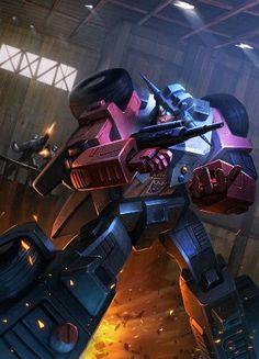Stunticon Wildrider Artwork From Transformers Legends Game