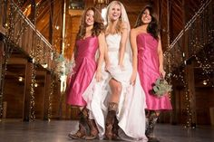 LOVE THIS!! Cute idea for wedding cowboy boots: http://www.countryoutfitter.com/style/spring-wedding-boots/?lhb=style