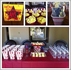 My daughter decided she wanted to have a Movie Star themed party. We invited 20 girls to our home to walk the red carpet, watch a Barbie Movie in the theater room, and celebrate with cupcakes. Movie Star Party, Star Theme Party, Movie Night Party, Party Time, 7th Birthday, Birthday Party Themes, Birthday Ideas, Birthday Celebrations, Cinema Party