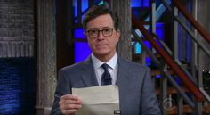 Stephen Colbert Confronts Trump About His Tweets In Twitter-vention