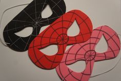 Superhero Masks by bykimconetta on Etsy