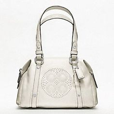 The Coach Audrey Leather Small Bag