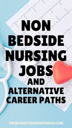 Are you a nurse who is tired of doing bedside care? If so, there are many online jobs that you can do from home. No matter if you're a nurse practitioner, a registered nurse, LPN or LVN there are remote jobs for every skill level. Want to leave nursing altogether? We have a list of alternative career paths. Nurses, find your dream job from home in this post! #jobsfromhome #parttime #workfromhome #remote #nonbedside #online #athome #nonclinical Best Nursing Jobs, Nursing Online, Nursing Career, Nursing Tips, Rn Jobs From Home, Registered Nurse Jobs, Nursing School Notes, Nursing School Humor, Nurse Brain Sheet
