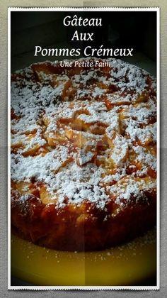 Gâteau Aux Pommes Crémeux | Une Petite Faim