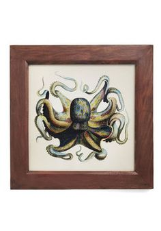 Deep Sea in Thought Framed Print, #ModCloth