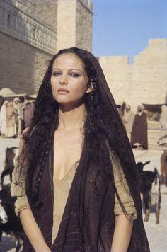 "Claudia Cardinale in ""Jesus of Nazareth"" (Franco Zeffirelli)"
