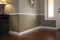 Raised panel wood wall paneling wall panelling wood wall panels painted chelmsford makeover light wood floors with grey accent wall shaker wall paneling