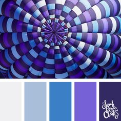 Purple + blue color combo // Summer Color Palettes // Click for more color schemes, mood boards and color combinations inspired by Summer at https://sarahrenaeclark.com #color #colorscheme #colorpalette