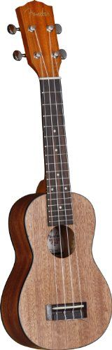 Fender Ukulele U'Uku – Soprano, Natural  http://www.instrumentssale.com/fender-ukulele-uuku-soprano-natural/
