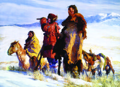 BY HOWARD TERPNING.........PAINTER OF THE PLAIN'S NATIVE AMERICAN........SOURCE NEVCEPIC.COM.UA.......