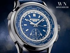 PATEK PHILIPPE – UNIVERSAL TIME CHRONOGRAPH REFERENCE 5930 #luxury #luxurywatches #watches