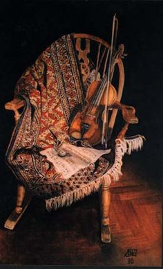 """Susan Harrisan-Tustain: 'Tempo d'Amati' Watercolor on Arches 300 gsm hot pressed paper 6 3/4"""" x 4 1/2"""" 173 mm x 115 mm"""