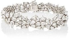 Monique Péan Atelier Women's Rose-Cut White Diamond Bracelet