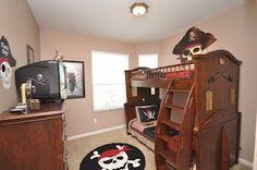 Pirates bedroom