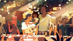 """Animation Blog: Kevin Dart & Stéphane Coëdel """"A Year of Sun with Mr Persol"""" (2011)"""